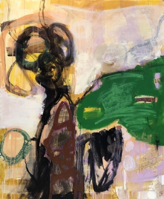 ingen titel by Charlotte Hammershøj | maleri