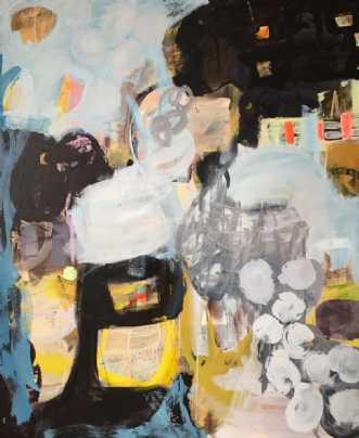 Vinterhi by Charlotte Hammershøj | maleri