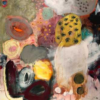 Glimt by Charlotte Hammershøj | maleri