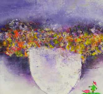 Farmors Blomster  by Kenn Arild | unikaramme