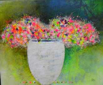 Mormors Blomster  by Kenn Arild | unikaramme