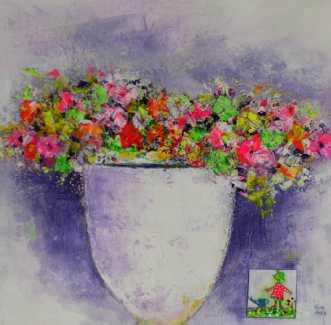 Mors Blomster  by Kenn Arild | unikaramme