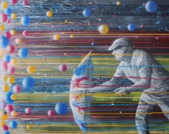 Snapshot by Knud Milo Diemer | maleri