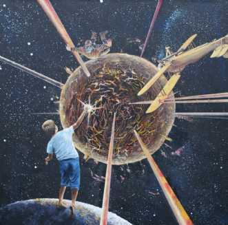 Boom by Knud Milo Diemer | maleri