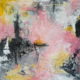 Sunny feelings by Kirsten Villarruel | maleri