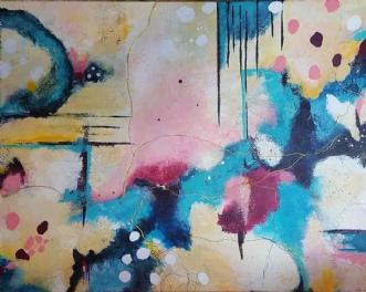 Spring is Coming by Kirsten Villarruel | maleri