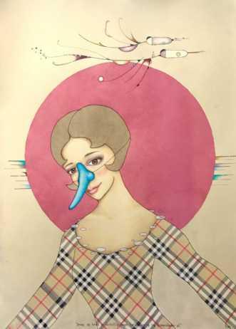 Smag og behag er fo.. by Janna Espenhain | maleri