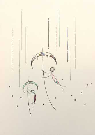 Regn og sludder, sa.. by Janna Espenhain | maleri