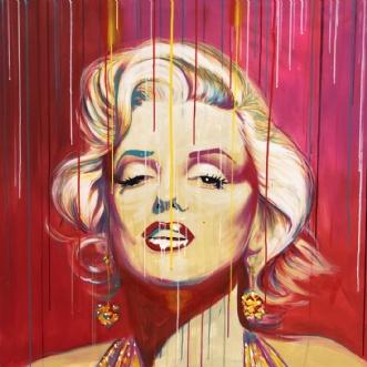 Marry me Marilyn! by Allan Buch | maleri