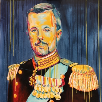 HKH Kronprins  Fred.. by Allan Buch | maleri