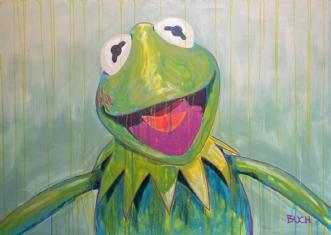 Kermit by Allan Buch | maleri