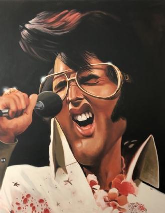 Viva las Vegas / El.. by Allan Buch | maleri