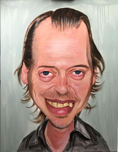 Steve Buscemi by Allan Buch | maleri