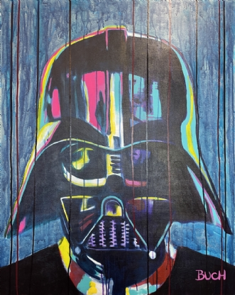 Darth Vader by Allan Buch | maleri