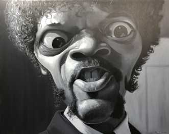 Say what again motherfucker! /Samuel L. Jackson af Allan Buch
