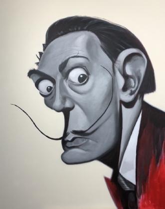 Salvador Dali by Allan Buch | maleri