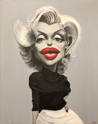 Marilyn Monroe by Allan Buch | maleri