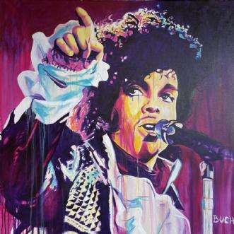 Prince by Allan Buch | maleri