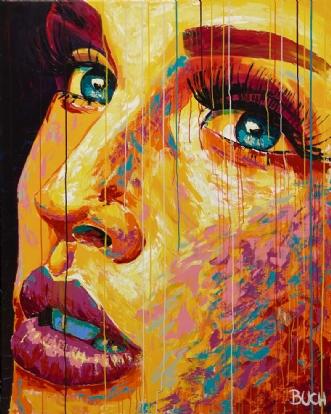 Faces I by Allan Buch | maleri