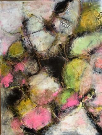 A loving reunion by Inge Thøgersen | maleri