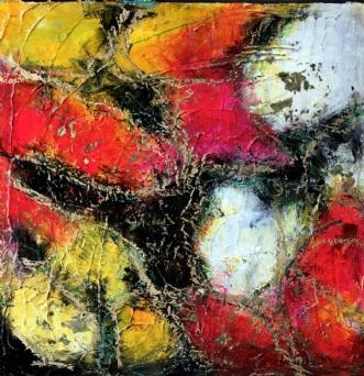 Sunrice by Inge Thøgersen | maleri