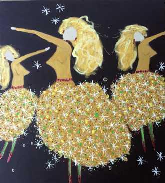 Sugarbabes by Inge Thøgersen | maleri