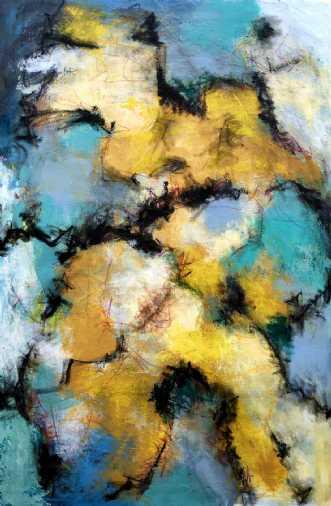 Vårvise by Inge Thøgersen | maleri