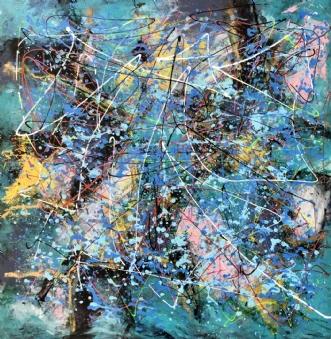 The winner takes it.. by Inge Thøgersen | maleri