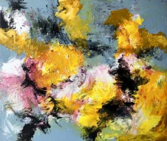 Bright times ahead by Inge Thøgersen | maleri