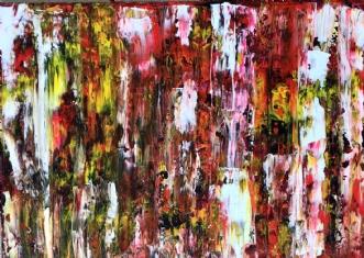 Reason to red by Inge Thøgersen | maleri