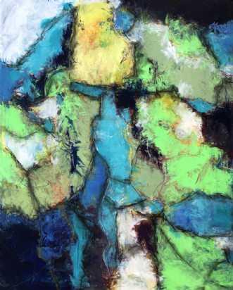 Forventningsfuld by Inge Thøgersen | maleri