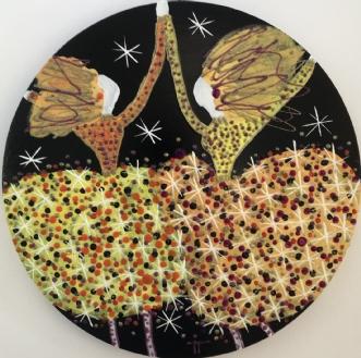 Happy birthsday by Inge Thøgersen | maleri