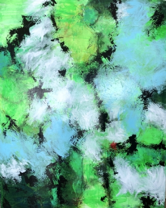 Forventningsfuld da.. by Inge Thøgersen | maleri
