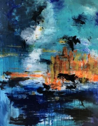 Sommeren i eget lan.. by Inge Thøgersen | maleri