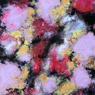 Pretty in pink by Inge Thøgersen | maleri