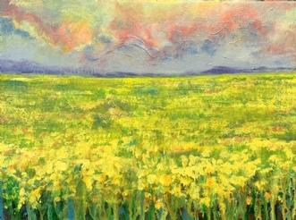 Sennepsmarker by Lea Peters | maleri