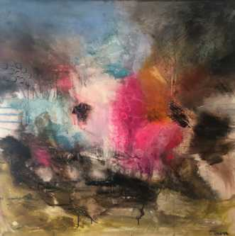 Kaos  by Charlotte Tønder | maleri