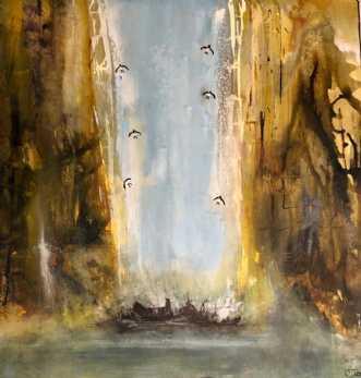 Cave  by Charlotte Tønder | maleri