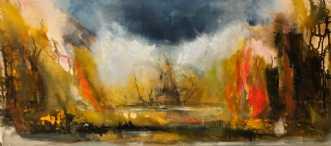 Drama by Charlotte Tønder | maleri
