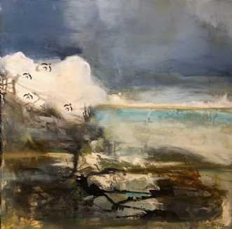 Land of Hope  by Charlotte Tønder   maleri
