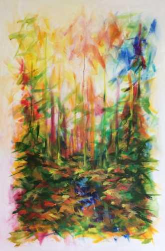 I skovens dybe stil.. by Lisbeth Christensen | maleri