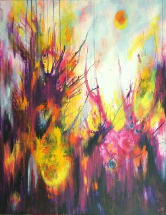 Trold kan tæmmes by Lisbeth Christensen | maleri