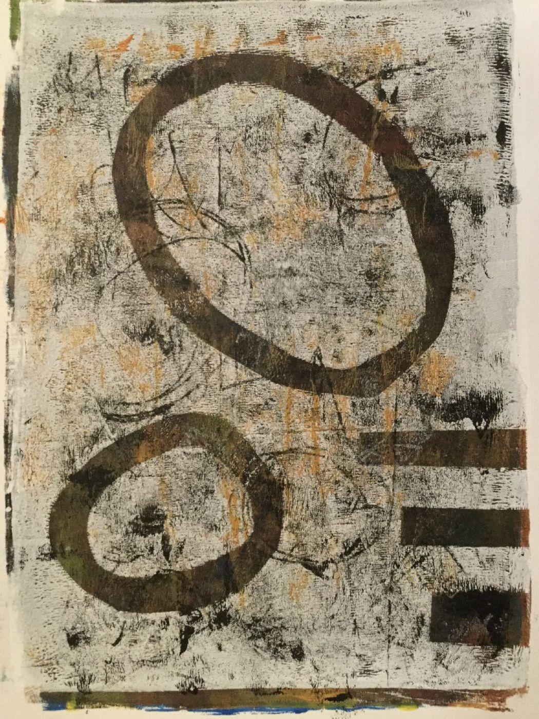 Monotryk by Inge Torp | maleri