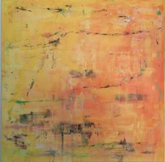 Gul  by Inge Torp | maleri
