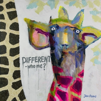 Different -who me? af Jan Graus