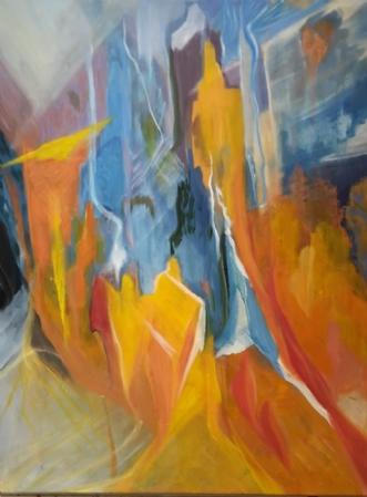 Vision 6 by Annelise Bentsen | maleri