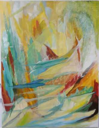 Vision 4 by Annelise Bentsen | maleri