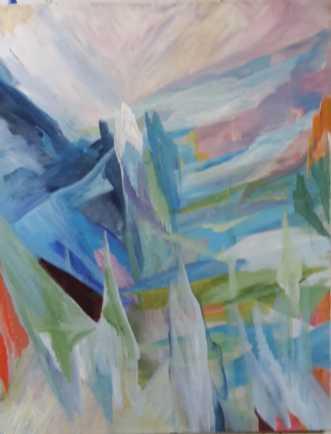 Vision 5 by Annelise Bentsen | maleri