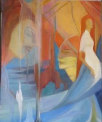 Femina by Annelise Bentsen | maleri