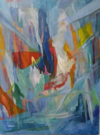 Mystic Forest by Annelise Bentsen | maleri